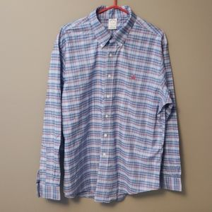 Brooks Brothers Plaid Shirt size XL